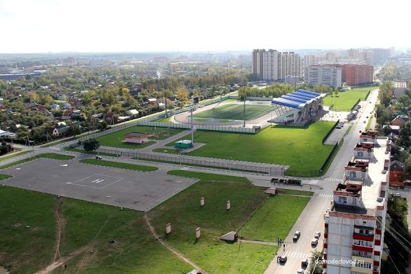 Вертолетная площадка, стадион Авангард, ЖК Гранд Авион, ЖК Кировский