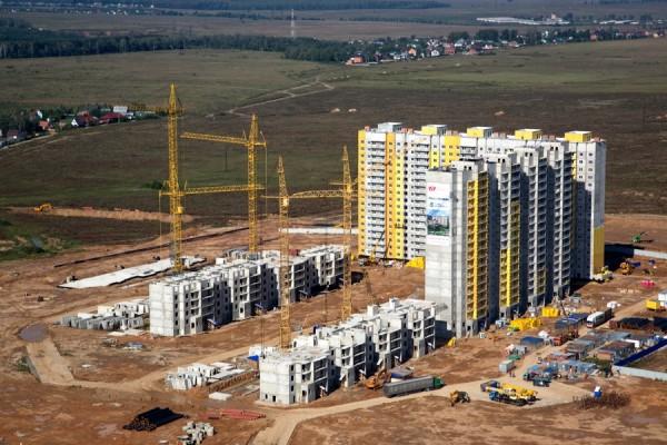 Жилой комплекс Новое Домодедово. Вид сверху
