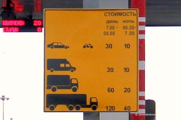 Платный участок дороги М4 Дон (4)