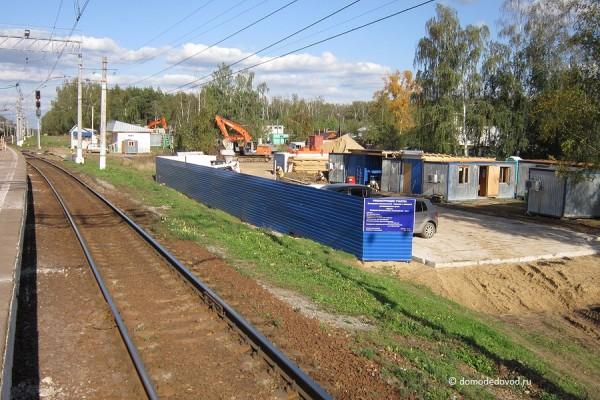 Реконструкция железной дороги на перегоне станция Авиационная — Аэропорт Домодедово (3)