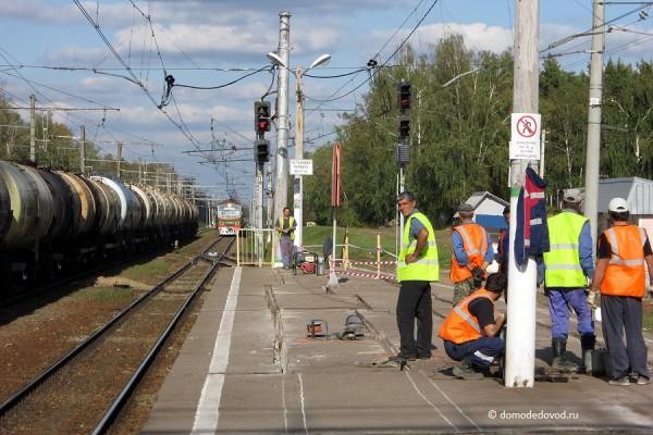 Реконструкция железной дороги на перегоне станция Авиационная — Аэропорт Домодедово (2)