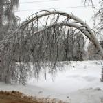 Ледяной дождь в Домодедово