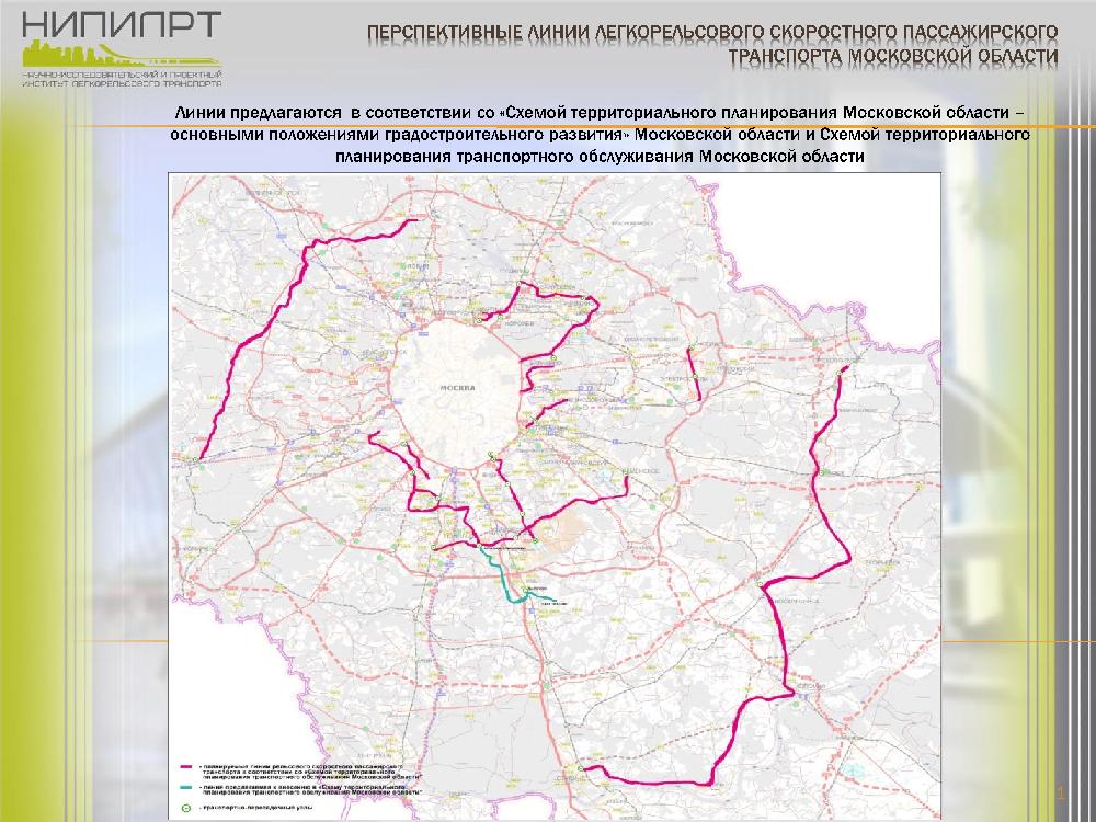 транспорта Московской