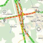 Пробки на платной дороге М4 в Домодедово (57)