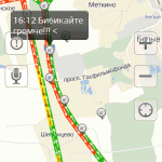 Пробки на платной дороге М4 в Домодедово (12)