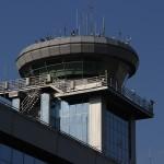 Московский аэропорт Домодедово. Вышка контрольно-диспетчерского пункта