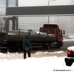 Зимние дороги в Домодедово