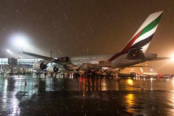 В аэропорт Домодедово прибыл самый большой в мире авиалайнер Airbus A380