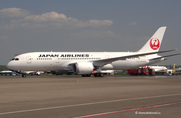 Boeing-787 Japan Airlnes