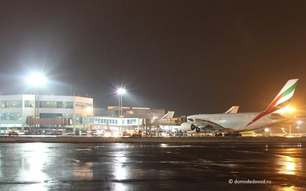 Airbus A380 прибыл в Домодедово
