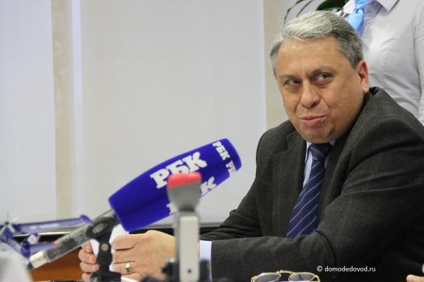 Заместитель директора по производству аэропорта Домодедово Борис Шахсуваров