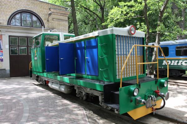 Дмитрий к морю. Детская украинская железная дорога