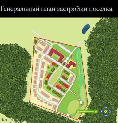 """План ЖК """"Домодедово Таун"""" Фото с сайта domodedovo-townhouse.ru"""