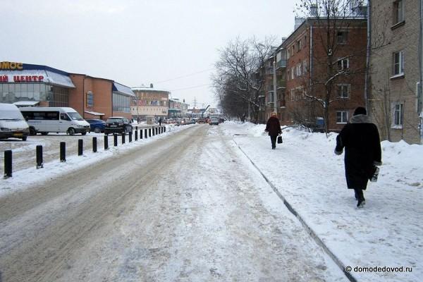 Работа эвакуатора в Домодедово (1)