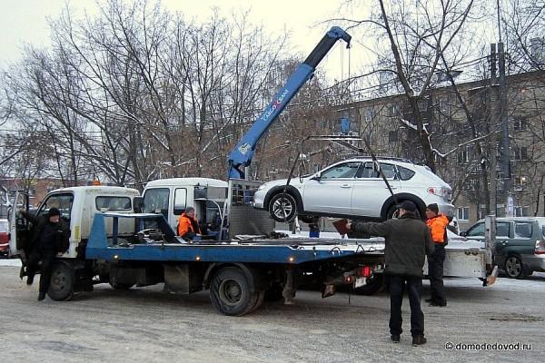 Работа эвакуатора в Домодедово (4)