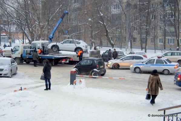 Работа эвакуатора в Домодедово (5)