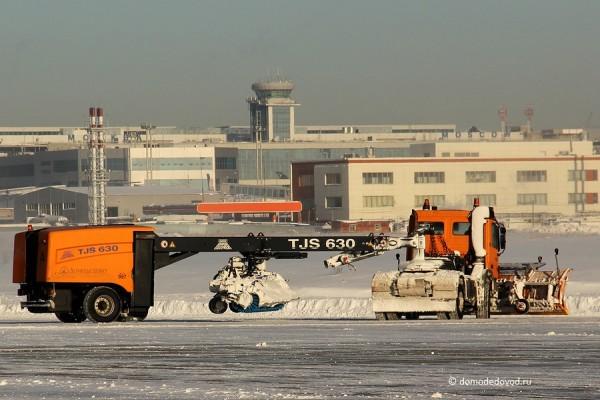 Спецтехника аэропорта Домодедово (21)