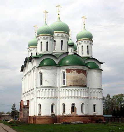 Храм Отрада и Утешение, село Добрыниха Домодедовский район
