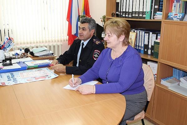 Домодедовские полицейские посетили детский дом им. Талалихина (3)