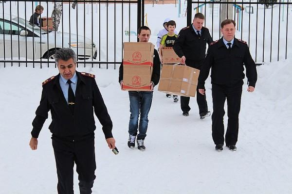 Домодедовские полицейские посетили детский дом им. Талалихина (5)
