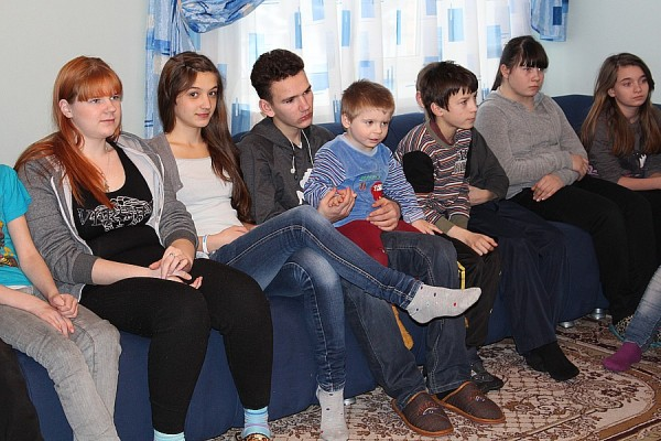 Домодедовские полицейские посетили детский дом им. Талалихина (7)