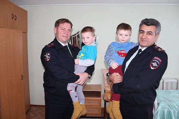 Домодедовские полицейские посетили детский дом им. Талалихина (1)