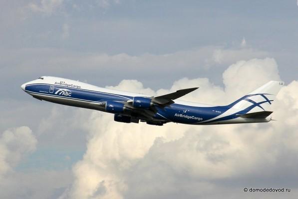 Споттинг в аэропорту Домодедово. Boeing-747