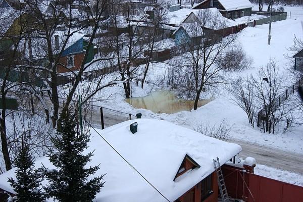 Пруд в Востряково