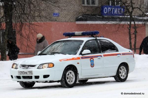 Автомобиль МЧС