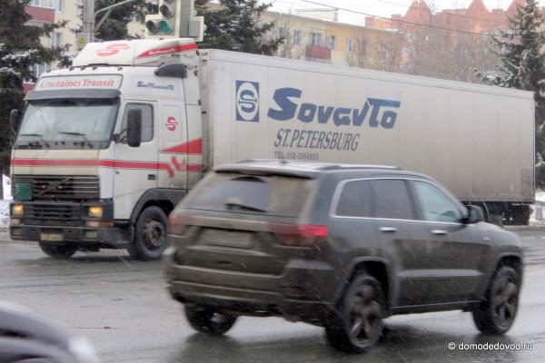 Каширское шоссе, город Домодедово: на МКАД нельзя, а сюда можно