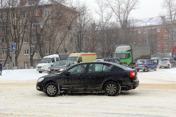 Перекресток Каширского шоссе и Советской улицы