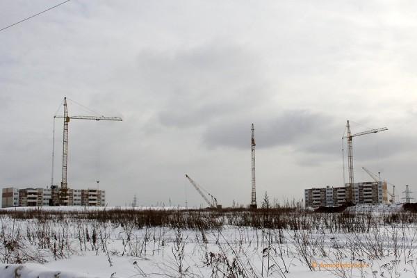 Строительство микрорайона Южное Домодедово (8)