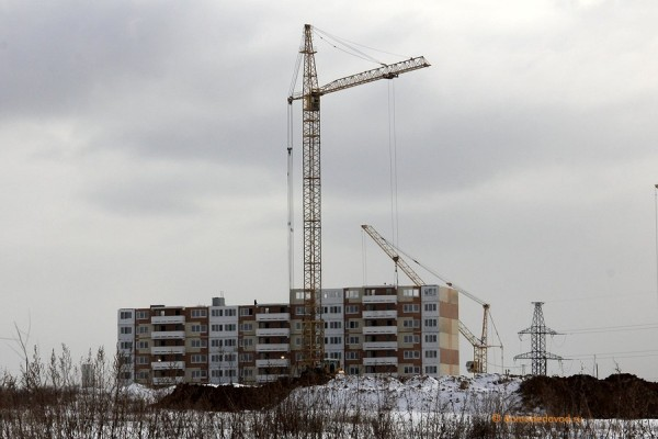 Строительство микрорайона Южное Домодедово (7)
