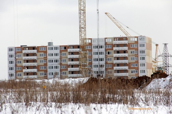 Строительство микрорайона Южное Домодедово (6)