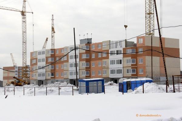 Строительство микрорайона Южное Домодедово (5)