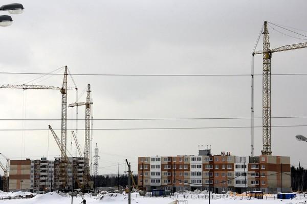 Строительство микрорайона Южное Домодедово (1)