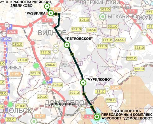Пилотная линия 1-аэропортовая ветка