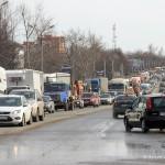 Пробки в Домодедово на Каширском шоссе