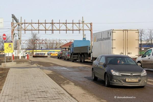 Железнодорожный переезд на ул. Гагарина