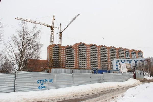 Новостройка Гюнай в Домодедово ул. Текстильщиков