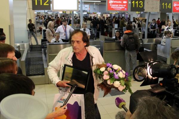 500-миллионный пассажир аэропорта Домодедово