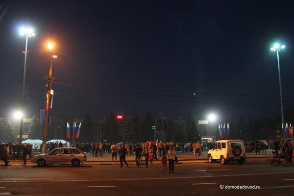 Площадь 30-летия Победы и Каширское шоссе