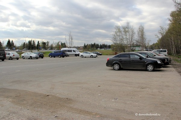 Бесплатная парковка около АЗС Татнефть
