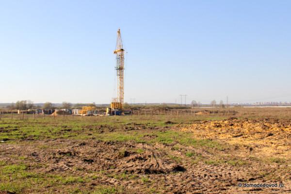 Место строительства ЖК Домодедово Парк