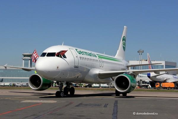 Самолет авиакомпании Germania