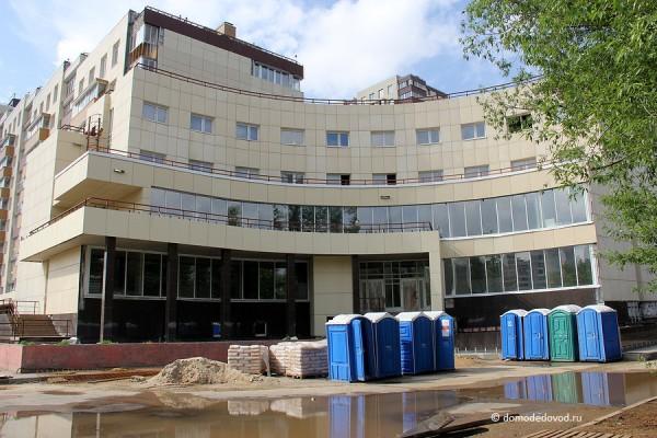 Будущий медицинский центр.