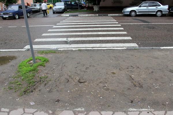 Пешеходный переход. Весна 2013