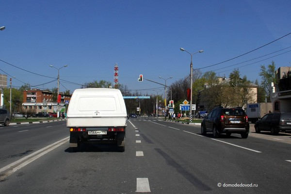 Дорога в Домодедово