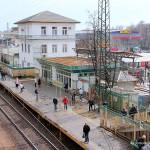 Станция Домодедово Павелецкого направления Московской железной дороги