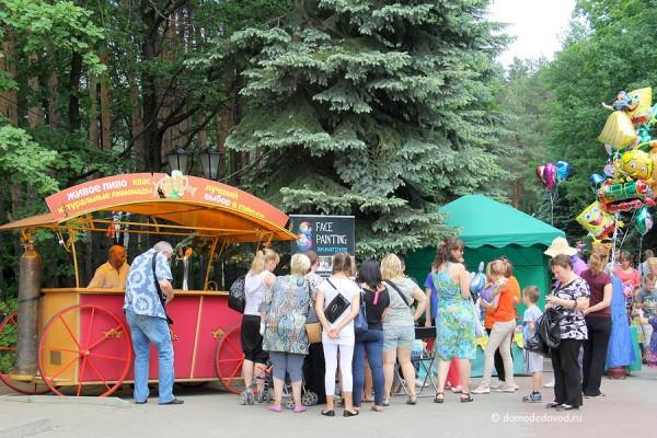Парк Ёлочки в городе Домодедово5081